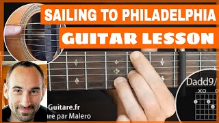 Sailing To Philadelphia Guitar Lesson - part 1 of 5