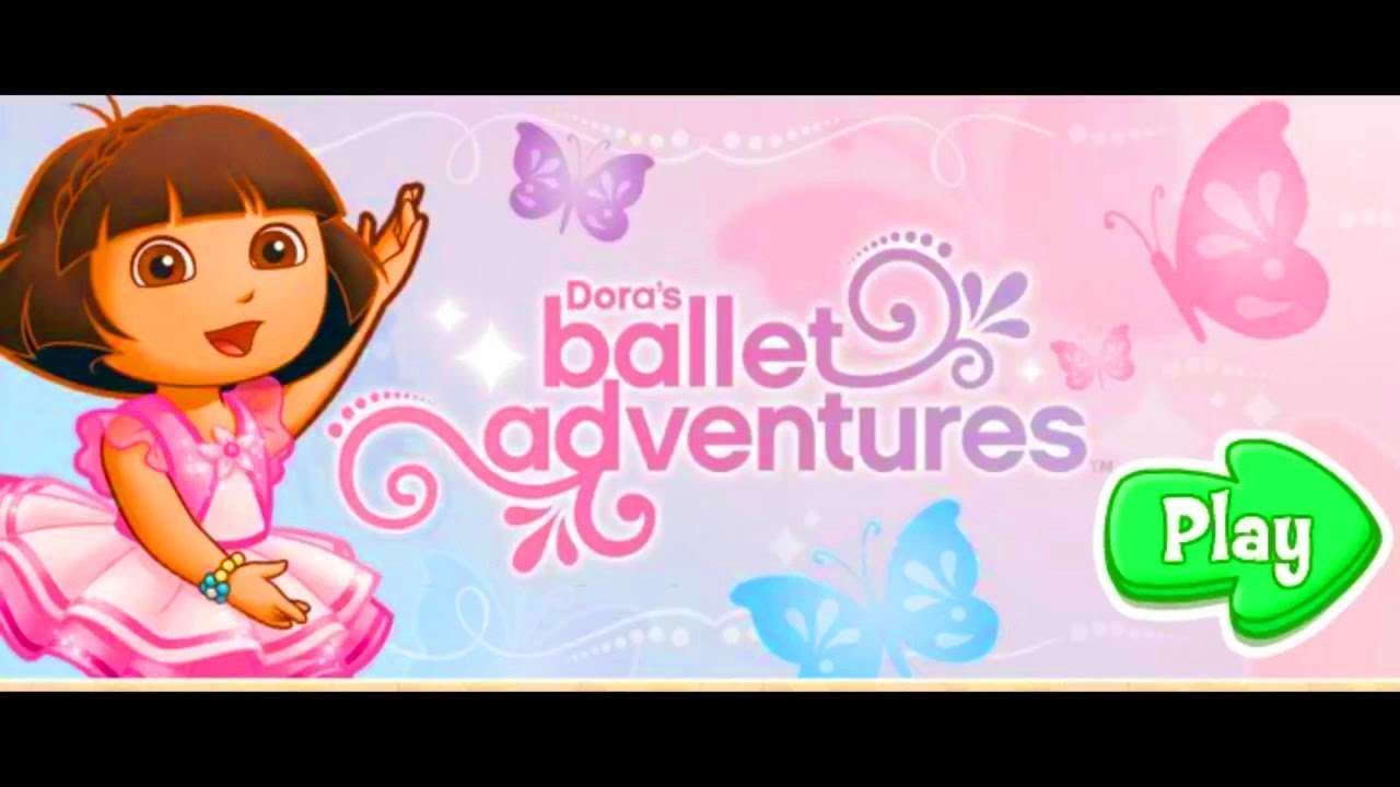 Dora The Explorer Ballet Adventure Game For Toddlers!