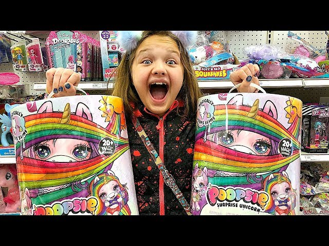 Toy Shopping At Target For Poopsie Unicorn Surprise Lol Surprise