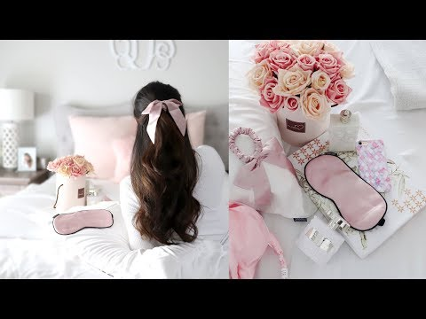 Accessories Haul & Giveaway - Lele Sadoughi, Anthropologie, Lilysilk + MORE!