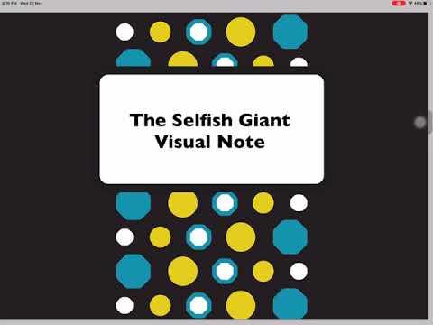 Novel Study Summary:The Selfish Giant