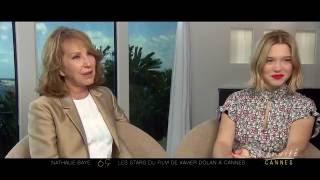 """Léa SEYDOUX & Nathalie BAYE: """"L"""