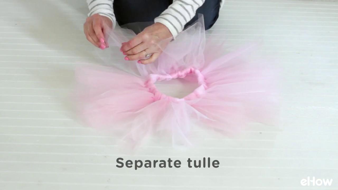 1851499686ec How to Make a Ballet Tutu - YouTube