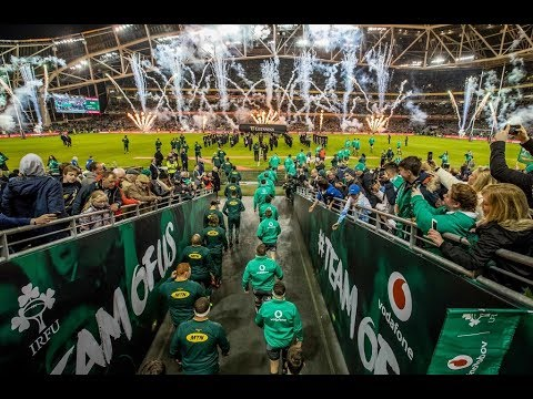 Irish Rugby TV: Ireland 38 South Africa 3 - Tunnel Cam