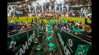 Irish Rugby TV: Ireland v South Africa Tunnel Cam