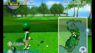 Wii Sports Resort - Golf -  Resort 9 Holes -11