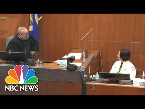 'Do Not Argue With The Court': Chauvin Trial Judge Warns Witness In Tense Exchange | NBC News NOW