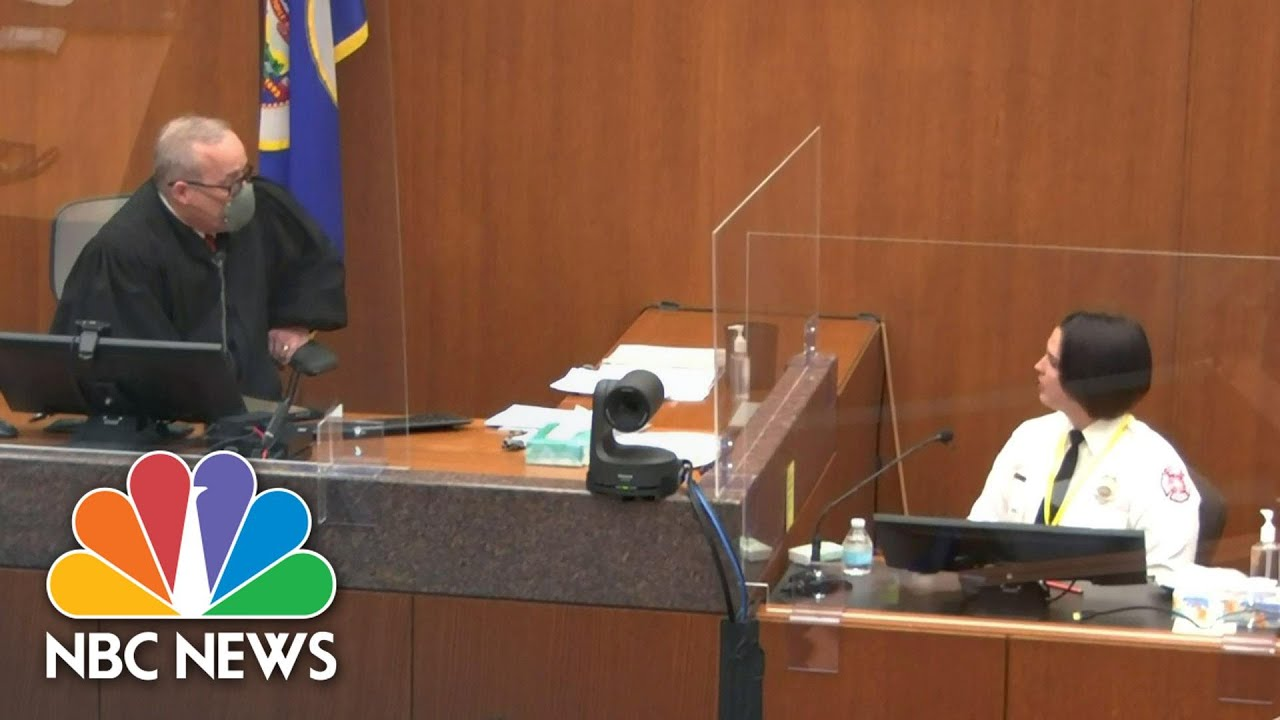 'Do Not Argue With The Court': Chauvin Trial Judge Warns Witness In Tense Exchange | NBC N