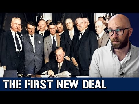 The First New Deal: Stemming the Tide of Depression in 1933