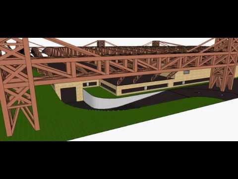 Dise O Y C Lculo Estructural De Una Nave Industrial
