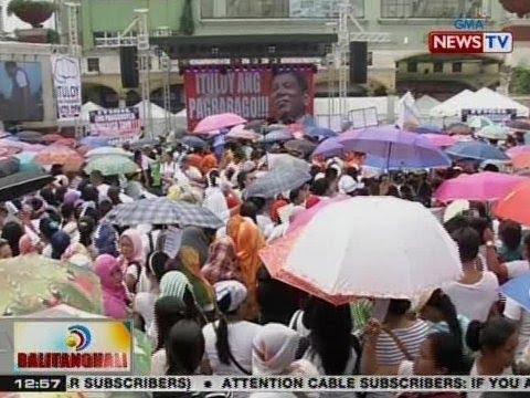 BT: Mga tagasuporta ni Pres. Duterte, may kilos-protesta rin