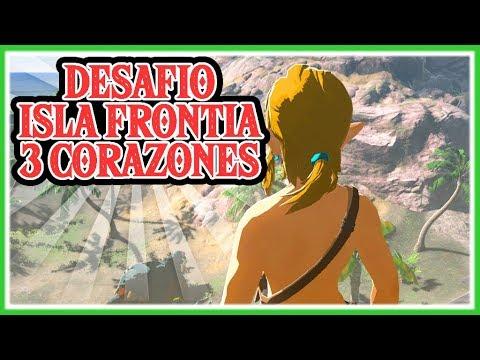 RETO ZELDA BREATH OF THE WILD - Isla Frontia con 3 corazones!!