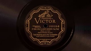 It Was Only a Sun Shower • Ted Weems and His Orchestra (Victrola Credenza)