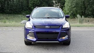 2013 Ford Escape SE FWD - WINDING ROAD POV Test Drive