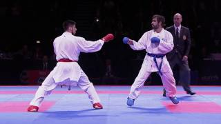 Download Video Rafael Aghayev vs Erman Eltemur. FINAL. European Karate Championships 2016 MP3 3GP MP4