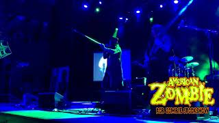 AMERICAN ZOMBIE ROB ZOMBIE SPOOKSHOW HOUSE OF BLUES ANAHEIM 2-20 LIVING DEAD GIRL HIGHLIGHTS
