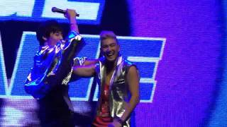 130622 NU'EST LOVE TOUR IN SINGAPORE - Baekho Minhyun Sexy Dance [HD]