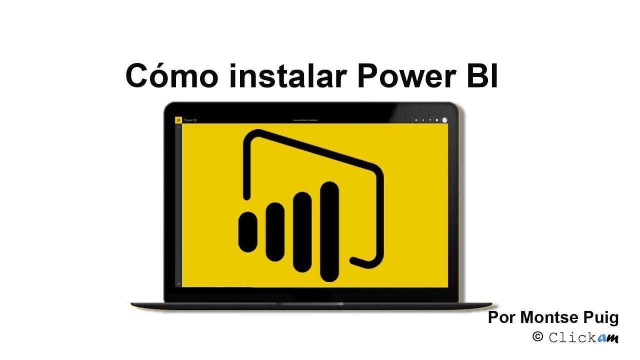 Cómo Instalar Power BI Desktop (en Español) -…
