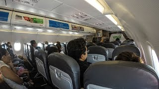 Is VivaAerobus as bad as everyone says? CUN-MEX, A320 main cabin