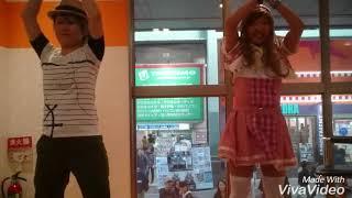 11/12 大須にて、だむさんコラボ第2弾!雅人くんとひかりちゃんでえーが...