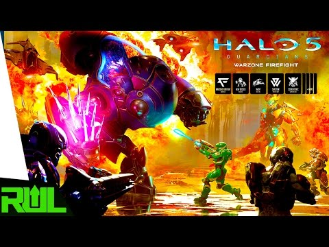 HALO 5 | WARZONE FIREFIGHT UPDATE GAMEPLAY (Halo 5 Guardians Xbox One)