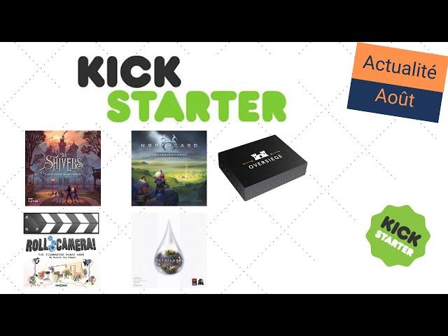L'actualité Kickstarter d'août 2020 - Northgard Uncharted Lands, The Shivers, Petrichor, Actu KS #8