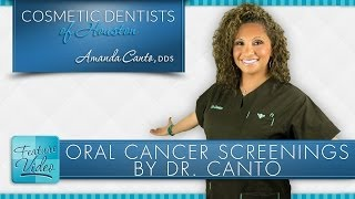 Oral Cancer Screenings: Cosmetic Dentist in Houston Saving Lives Thumbnail