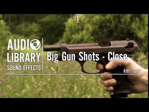Big Gun Shots - Close - Sound Effect