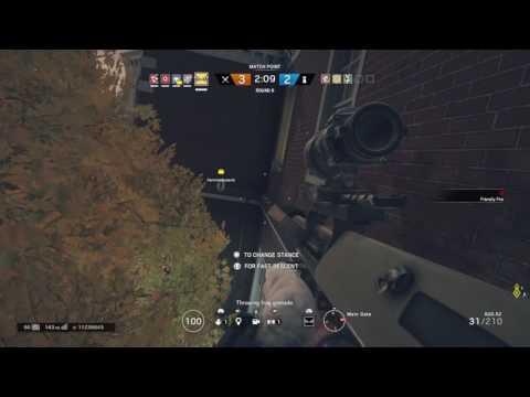 Rainbow Six Siege Atılamayan Bomba