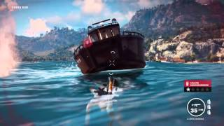 Just Cause 3 Explotions an Sinking Ships