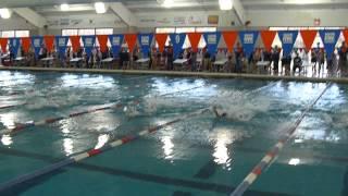 Julia - Lane 9 Tarheel Championship 50 Backstroke