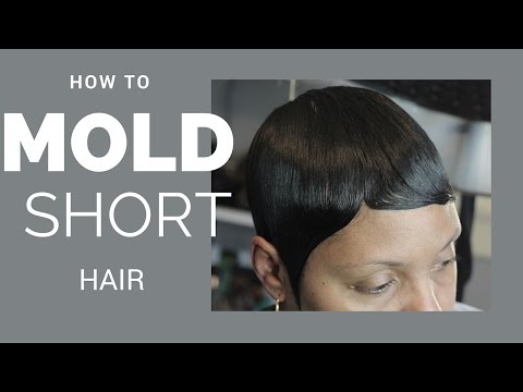 Short hair: how to mold | black women hair styles | classes for hair stylists