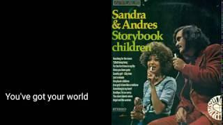 Gambar cover Sandra & Andres - Storybook Children w/Lyrics