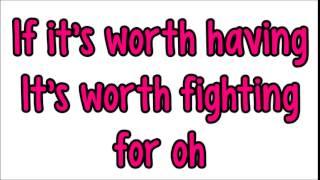 Cimorelli - fight for this love (lyrics)