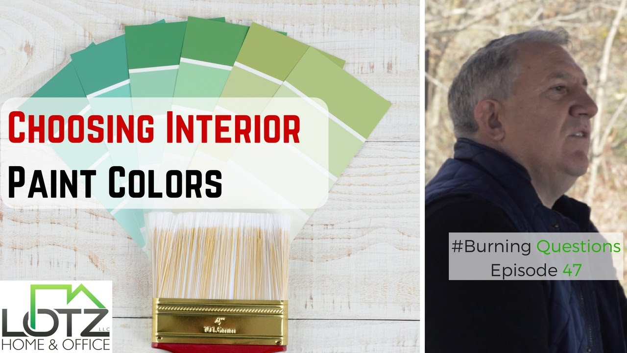 choosing interior paint colors | home painters contractors in