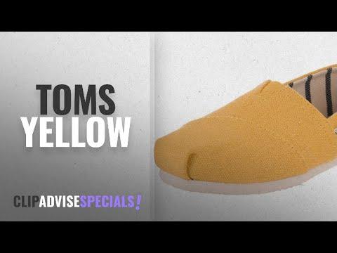 5d8d07308f9a9 Top 5 Toms Yellow [2018]: TOMS Women's Seasonal Classics Dandelion ...