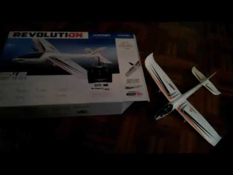 Revolution Ascent Micro Twin X RTF 2 Channel Airplane, flying tips and flight video