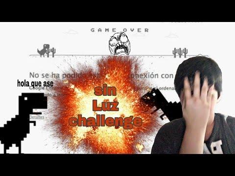 Sin Luz Challenge .Dinosaurio Google (Gameplay) 😂