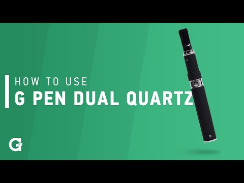 How To Use Your G Pen Dual Quartz Vaporizer (For Concentrate)