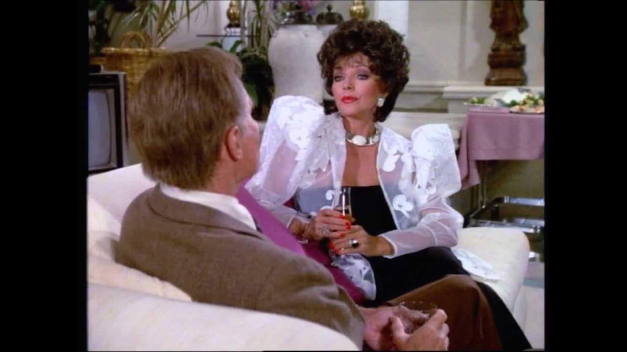 Joan Collins What Did She Wear On Dynasty Season 6 Youtube