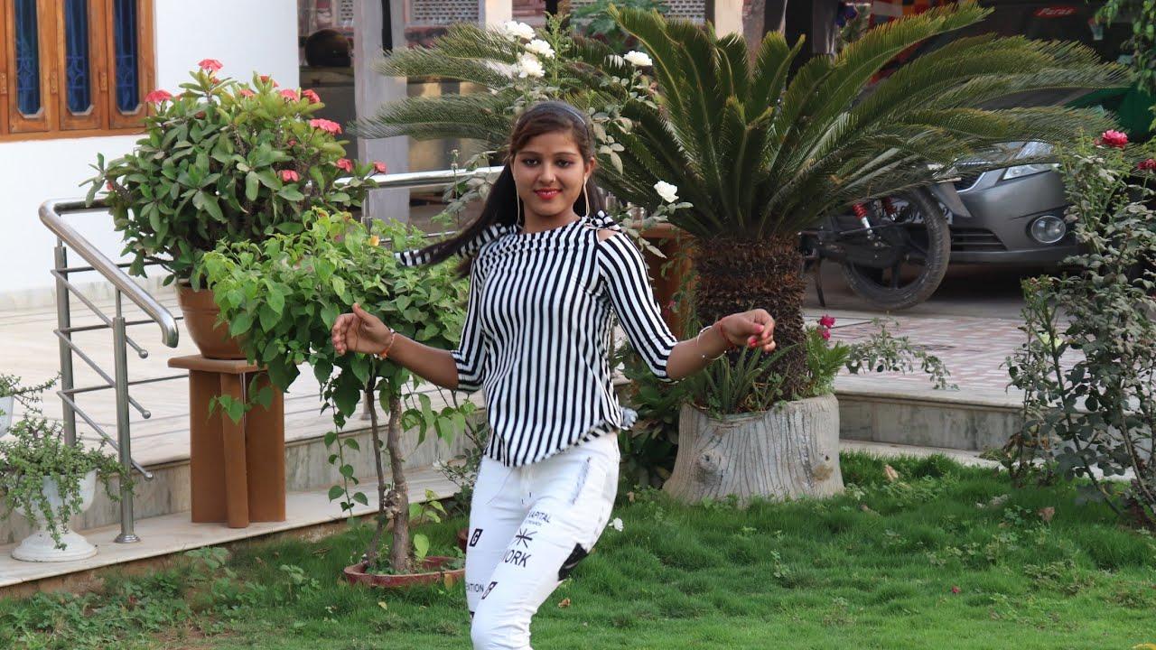 इस लड़की ने किया घर के गार्डन में देहाती डांस || puja kar baba bhola ki || Ajeet Katara Rasiya
