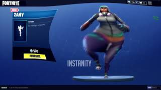 FORTNITE ZANY DANCE EMOTE BASS BOOSTED