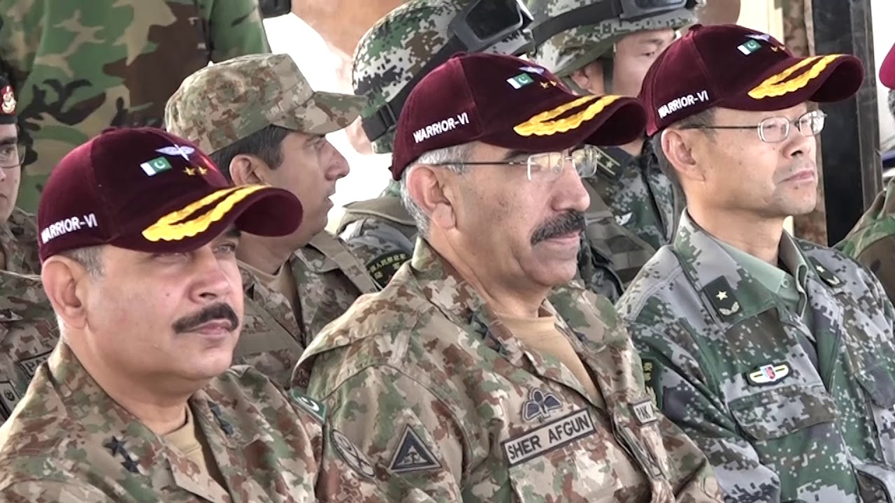 Press Release No 5/2019, Pakistan and China Joint Military Exercise-5 Jan  2019(ISPR Official Video)