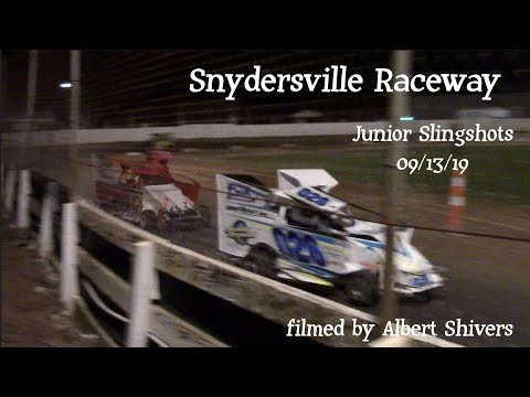 Snydersville Raceway - Junior Slingshots (09/13/19)