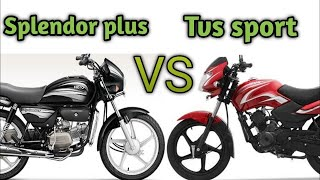 Hero Splendor Plus BS6 vs TVS SPORT BS6  Detailed Compare 2020 ||  தமிழில் || ps tamil blogs 🔥🔥🔥