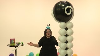 How To Make a Fancy, Elegant Balloon Tower