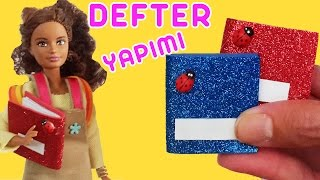 Video Barbie için Defter Yapımı | Oyuncak Butiğim download MP3, 3GP, MP4, WEBM, AVI, FLV November 2017