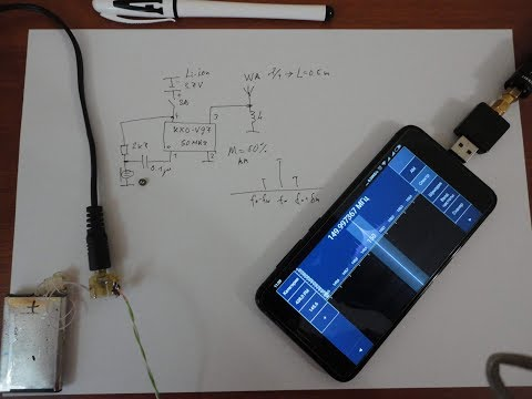 AM микропередатчик из KXO-V97