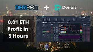 Massive Gains Using New Deribot Scalping Strategy? / Live Ethereum Trading
