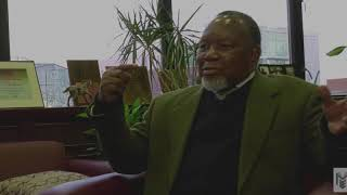 President Dr. Rudy Crew meets with Former President of South Africa Kgalema Motlanthe